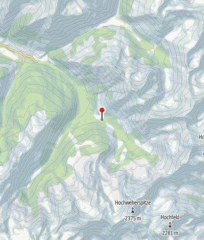 Karte / Beireut Alm 1302 m