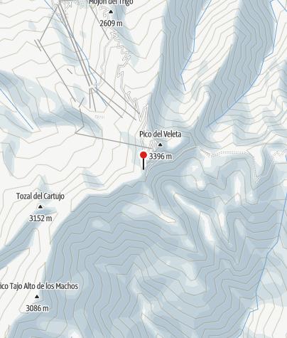 Karte / Refugio de la Carihuela