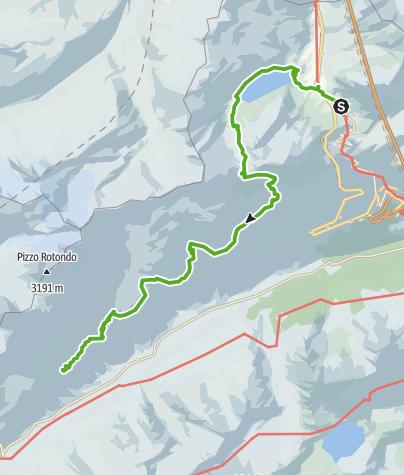 Map / 49.03 Gotthardpass - Capanna Piansecco CAS, Vier-Quellen-Weg