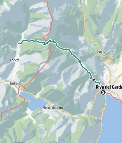 Map / Senter de Val Sorda (SAT 402)