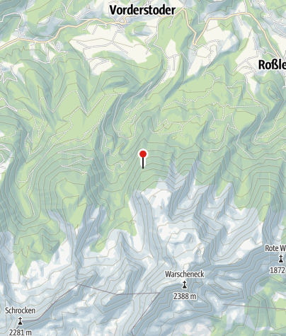 Karte / Zellerhütte 1574 m