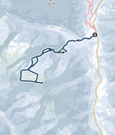 Map / Bruderkogel (2299m) in den Rottenmanner Tauern