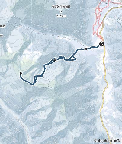 Karte / Schüttnerkogel (2170 m) in den Rottenmanner Tauern