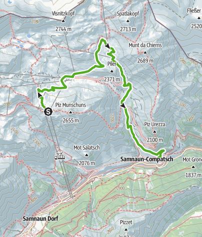 Karte / Alp Bella