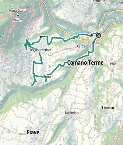 Map / Foorsteps of faith
