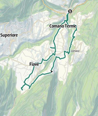 Map / A walk through local history