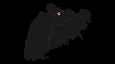 Map / Neckartal/Schwarzwald (Deutsche Fachwerkstraße)
