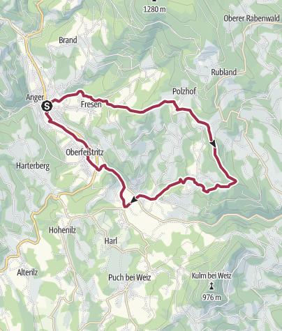 Karte / Genussrundweg