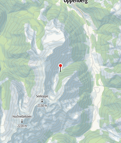 Karte / Hütte 1464 m