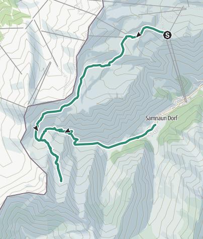 Map / Gletscherwanderung