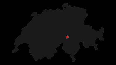 Karte / Familienwanderung Oberalppass - Tschamut