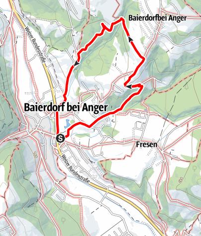 Karte / Waldromantikweg