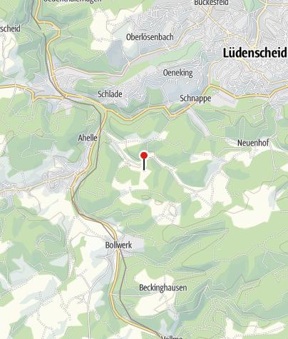 Karte / Hütte Tinghausen