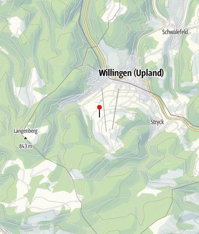 Karte / Hagener Hütte am Ettelsberg