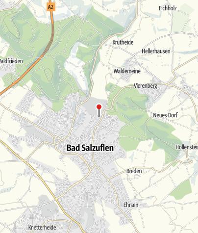 Karte / Ferienwohnungen Tal-Residenz Bad Salzuflen