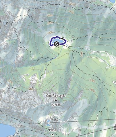 Mappa / Lago Nambino Riserva R5 Nambino