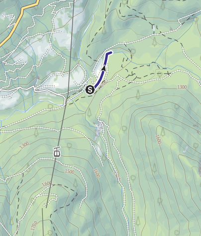Karte / Rio Vallesinella Riserva R3 Rio Vallesinella