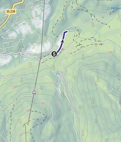 Map / Rio Vallesinella Riserva R3 Rio Vallesinella