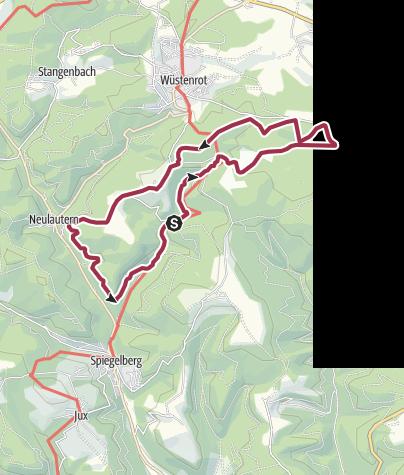 Karte / Idyllische Straße Tour M - Wilde Schluchten - Luftige Höhen