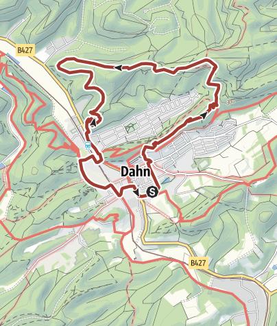 Kaart / Elwetritscheweg und Infopfad