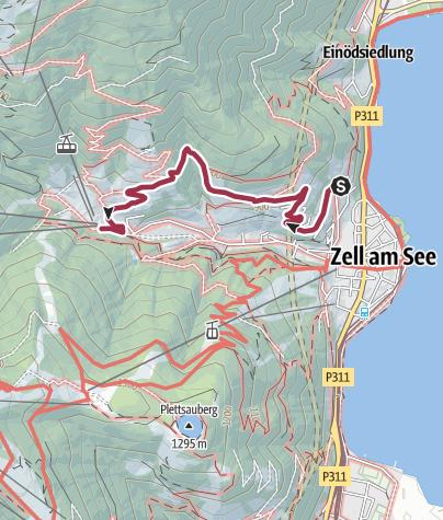 Map / Sonnberg Promenade no. 60