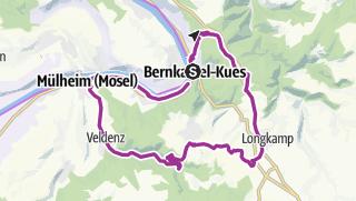 Mosel Karte Mit Allen Orten.Mosel Radtour Hoch Zum Hunsrück Radtour Outdooractive Com
