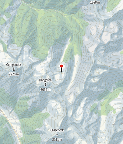 Karte / Hangofenalm 1605 m