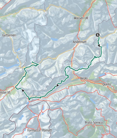 Carte / 5-Tagestour Vier-Quellen-Weg