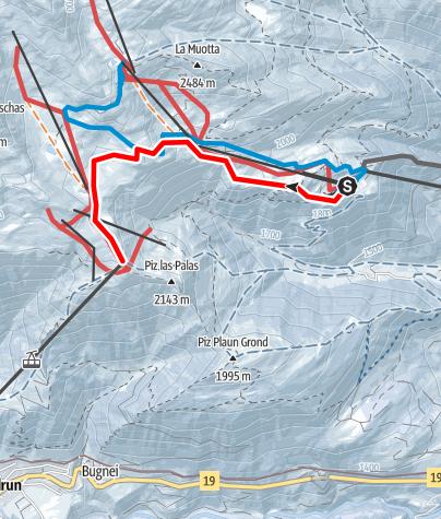 Map / Caischavedra - Gendusas