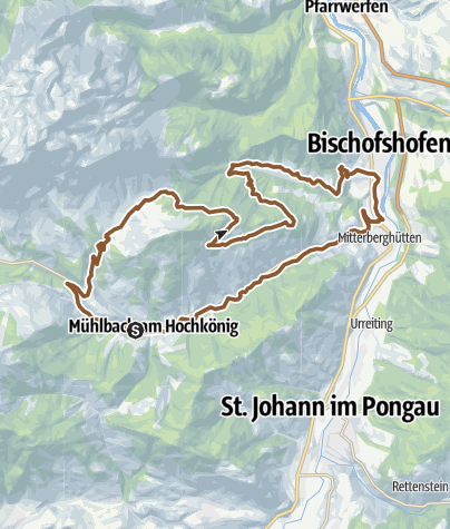 Map / Bischofshofen - Arthurhaus Loop Trail