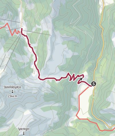 Karte / Wanderbus-Tipp: Gnadenalm - Tauernkarleiten - Zauchensee