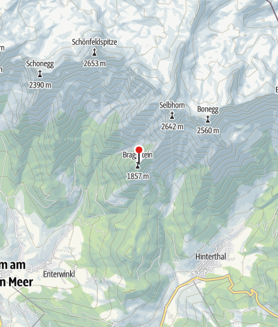 Karte / Selbstversorgerhütte 1820 m