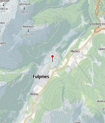 Karte / Lenzerhof