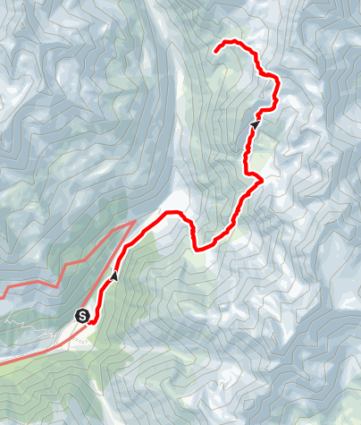 Karte / Über das höchstgelegene Seenplateau Südtirols- die Saldurseen