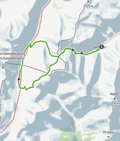Karte / Silvretta Historica - Heidelberger Hütte