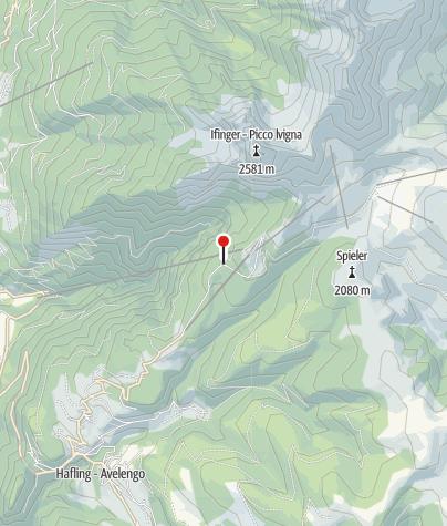 Karte / Zuegghütte