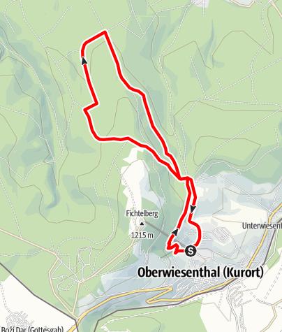 Karte / Gabriele-Kohlisch-Tour