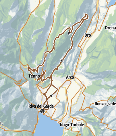 Map / 771. Garda Trentino Bike Marathon Ronda Piccola (All Mountain)