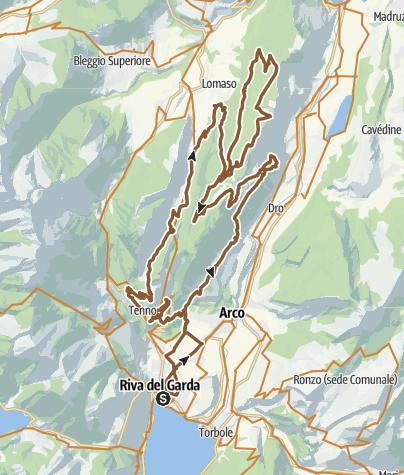 Cartina / 772. Bike Marathon Ronda Grande
