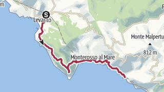 Cartina / Da Levanto a Vernazza