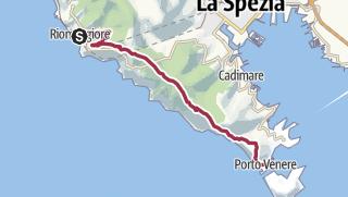 Cartina / Da Riomaggiore a Portovenere