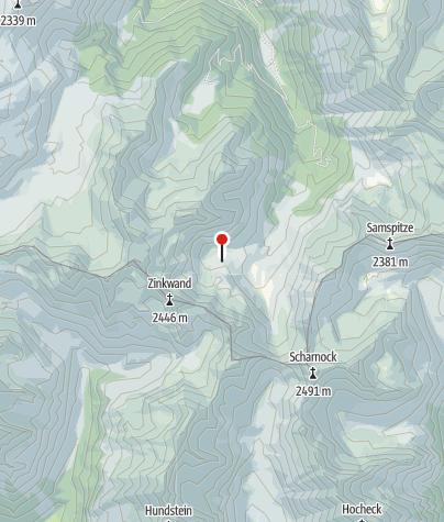 Karte / Keinprechthütte 1872 m